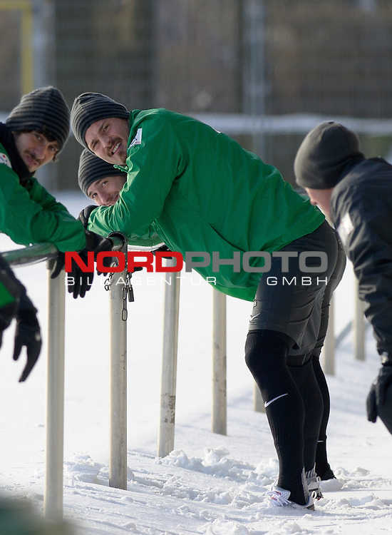 27.01.2014, Trainingsgelaende, Bremen, GER, 1.FBL, Training Werder Bremen, im Bild Sebastian Pr&ouml;dl / Proedl (Bremen #15)<br /> <br /> Foto &copy; nordphoto / Frisch