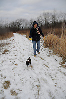 Walk with Connie and Porky at Perch Creek