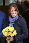 "06.12.2012, London: CATHERINE, DUCHESS OF CAMBRIDGE LEAVES HOSPITAL.Kate loking a bit frail left the King Edward VII's Hospital, London this morning with Prince William at her side..The Duchess of Cambridge who was confirmed to be pregnant by Buckingham Palace earlier in the week had been hospitalised suffering from acute morning sickness..Mandatory credit photo:©Butler/NEWSPIX INTERNATIONAL..(Failure to credit will incur a surcharge of 100% of reproduction fees)..**ALL FEES PAYABLE TO: ""NEWSPIX  INTERNATIONAL""**..Newspix International, 31 Chinnery Hill, Bishop's Stortford, ENGLAND CM23 3PS.Tel:+441279 324672.Fax: +441279656877.Mobile:  07775681153.e-mail: info@newspixinternational.co.uk"