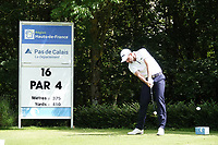 Robin Roussel (FRA) in action during the final round of the Hauts de France-Pas de Calais Golf Open, Aa Saint-Omer GC, Saint- Omer, France. 16/06/2019<br /> Picture: Golffile | Phil Inglis<br /> <br /> <br /> All photo usage must carry mandatory copyright credit (© Golffile | Phil Inglis)