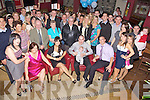 Celebrations - Susanna Donoghue & Enda O'Flaherty from Oakpark, seated centre having a wonderful time with family and friends at the Christening celebrations for their son Toma?s Blake held in O'Donnell's of Mounthawk on Saturday following the ceremony in St Brendan's....................................................................................................................................................................................................................................................................................................... ............