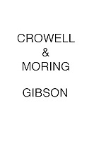 Crowell & Moring Gibson