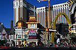 Casino Royale and Macdonalds giant arch, The Strip, Las Vegas, Nevada, USA