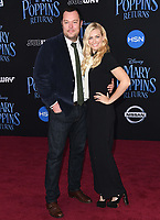 29 November 2018 - Hollywood, California - Beth Behrs, Michael Gladis. &quot;Mary Poppins Returns&quot; Los Angeles Premiere held at The Dolby Theatre.   <br /> CAP/ADM/BT<br /> &copy;BT/ADM/Capital Pictures