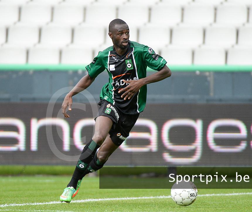 Cercle Brugge : Ismaila N'Diaye<br /> foto VDB / BART VANDENBROUCKE
