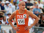 May 18, 2008 - Boulder, CO.   Texas' Jacob Hernandez waits for the start of the  Men's 800m at the 2008 Big 12 Conference Track & Field Championships.  ...Larry Clouse/CSM