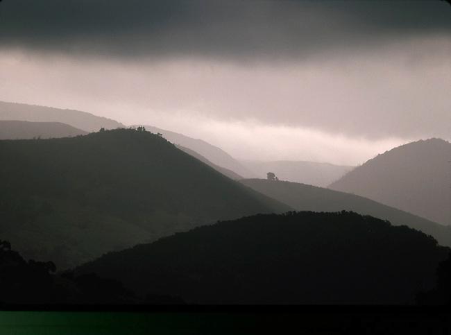Napa Valley storm