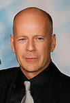 "HOLLYWOOD, CA. - September 24: Bruce Willis  arrives at the Los Angeles premiere of ""Surrogates"" at the El Capitan Theatre on September 24, 2009 in Hollywood, California."