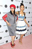 LOS ANGELES - AUG 12: Jeannie Mai, Olivia TuTram Mai at the 5th Annual BeautyCon Festival Los Angeles at the Convention Center on August 12, 2017 in Los Angeles, California