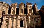 Jordan, Petra. Al Deir (the Monastery), a Nabatean Temple&amp;#xA;<br />