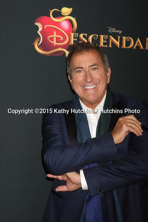 "LOS ANGELES - JUL 24:  Kenny Ortega at the ""Descendants"" Premiere Screening at the Walt Disney Studios on July 24, 2015 in Burbank, CA"