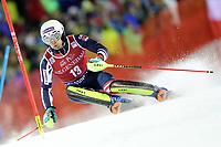 January 8th 2020, Madonna di Campiglio, Italy;  FIS Alpine Ski World Cup Men's Night Slalom in Madonna di Campiglio, Italy on January 8, 2020, Dave Ryding (GBR) - Editorial Use