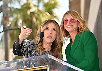 LOS ANGELES, CA. March 29, 2019: Rita Wilson & Julia Roberts at the Hollywood Walk of Fame Star Ceremony honoring actress Rita Wilson.<br /> Pictures: Paul Smith/Featureflash