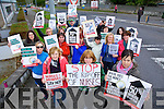 Nurses  protest against increase in registration fees at KGH on Thursday