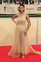 LOS ANGELES, CA - JANUARY 21: Amanda Warren at The 24th Annual Screen Actors Guild Awards held at The Shrine Auditorium in Los Angeles, California on January 21, 2018. Credit: FSRetna/MediaPunch