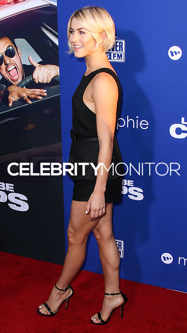 "HOLLYWOOD, LOS ANGELES, CA, USA - AUGUST 07: Julianne Hough at the Los Angeles Premiere Of 20th Century Fox's ""Let's Be Cops"" held at ArcLight Cinemas Cinerama Dome on August 7, 2014 in Hollywood, Los Angeles, California, United States. (Photo by Xavier Collin/Celebrity Monitor)"
