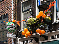 Königstag in Amsterdam, Provinz Nordholland, Niederlande<br /> Kings day in Amsterdam, Province North Holland, Netherlands