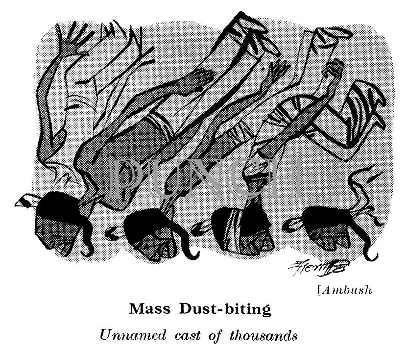 Ambush ; unnamed cast of thousands