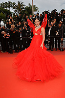 "CANNES, FRANCE. May 17, 2019: Araya Hargate  at the gala premiere for ""Pain and Glory"" at the Festival de Cannes.<br /> Picture: Paul Smith / Featureflash"
