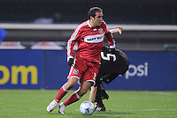Chicago Fire midfielder Cuauhtemoc Blanco (10)    Chicago Fire tied  DC United 1-1 at  RFK Stadium, Saturday March 28, 2009.