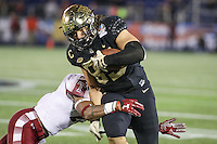 Annapolis, MD - December 27, 2016: Wake Forest Demon Deacons tight end Cam Serigne (85) in action during game between Temple and Wake Forest at  Navy-Marine Corps Memorial Stadium in Annapolis, MD.   (Photo by Elliott Brown/Media Images International)