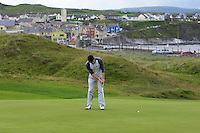 Liam Grehan (Mullingar) on the 3rd during Matchplay Round 1 of the South of Ireland Amateur Open Championship at LaHinch Golf Club on Friday 22nd July 2016.<br /> Picture:  Golffile | Thos Caffrey<br /> <br /> All photos usage must carry mandatory copyright credit   (© Golffile | Thos Caffrey)