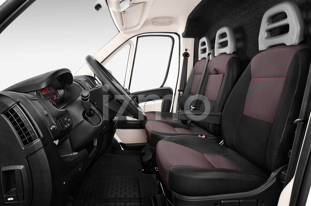 Front seat view of a 2018 Peugeot Boxer Pro 5 Door Cargo Van front seat car photos