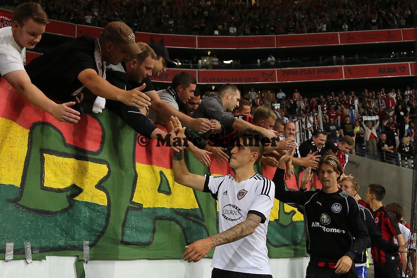 Joselu (Eintracht) - Eintracht Frankfurt vs. Karabach Adam, UEFA Europa League 1. Runde, Rückspiel