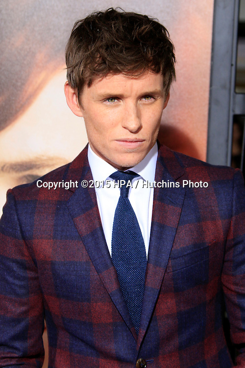 "LOS ANGELES - NOV 21:  Eddie Redmayne at the ""The Danish Girl"" Premiere at the Village Theater on November 21, 2015 in Westwood, CA"