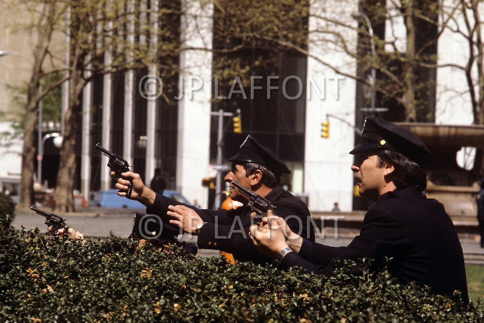 New York, USA. December 1981. From the american comedy drama film, The World According to Garp,  directed by George Roy Hill, based on the novel of the same title by John Irving. Photo of action on 42nd street, New York City.