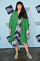 Melissa Helmsley<br /> arriving for the Skate at Somerset House 2017 opening, London<br /> <br /> <br /> ©Ash Knotek  D3351  14/11/2017
