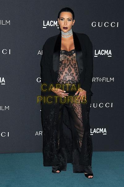 7 November 2015 - Los Angeles, California - Kim Kardashian West. LACMA 2015 Art+Film Gala held at LACMA.  <br /> CAP/ADM/BP<br /> &copy;BP/ADM/Capital Pictures