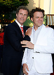 "Actors Will Ferrell and John C. Reilly arrive at the Premiere of Columbia Pictures' ""Step Brothers"" at the Mann Village Theater on July 15, 2008 in Los Angeles, California."