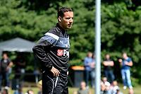 HAREN - Voetbal, Eerste Training FC Groningen  sportpark de Koepel, 01-07-2017,  Mischa Visser loopt stage