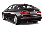 Car pictures of rear three quarter view of a 2015 BMW 5 Series 535I Luxury 5 Door Hatchback 2WD Angular Rear