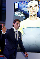 Rafael Nadal of Spain attends the Official Launch of the ATP World Tour Finals at City Hall, London, 2015