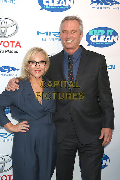 HOLLYWOOD, CA - APRIL 21: Rachael Harris, Robert Kennedy Jr. at the Keep It Clean Comedy Benefit For Waterkeeper Alliance at Avalon on April 21, 2016 in Hollywood, California. <br /> CAP/MPI/DE<br /> &copy;DE/MPI/Capital Pictures