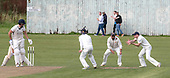 Cricket Scotland National League Final - Prestwick CC V Heriots CC at Meikleriggs, Paisley (Ferguslie CC) - Prestwick's Ross Paterson, at 2nd slip,watches the ball into his hands to take the wicket of Heriots Mark Watt - picture by Donald MacLeod - 20.08.2017 - 07702 319 738 - clanmacleod@btinternet.com - www.donald-macleod.com