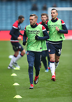 Bolton Wanderers' Craig Noone during the warm-up<br /> <br /> Photographer Rob Newell/CameraSport<br /> <br /> The EFL Sky Bet Championship - Millwall v Bolton Wanderers - Saturday 24th November 2018 - The Den - London<br /> <br /> World Copyright © 2018 CameraSport. All rights reserved. 43 Linden Ave. Countesthorpe. Leicester. England. LE8 5PG - Tel: +44 (0) 116 277 4147 - admin@camerasport.com - www.camerasport.com