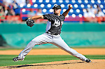 2 March 2011: Florida Marlins pitcher Mike Dunn in action during a Spring Training game against the Washington Nationals at Space Coast Stadium in Viera, Florida. The Nationals defeated the Marlins 8-4 in Grapefruit League action. Mandatory Credit: Ed Wolfstein Photo