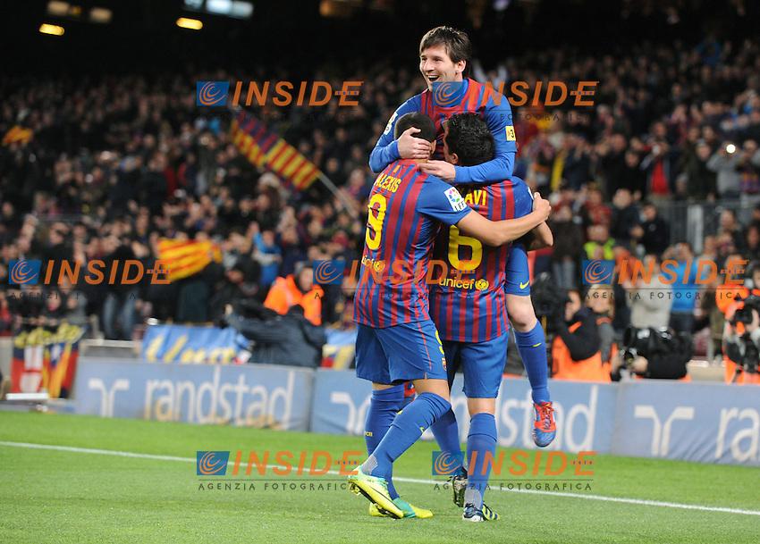 Lionel Messi (Barcellona).Barcellona 20/03/2012 Nou Camp.Football Calcio 2011/2012 Liga Spagnola.Barcellona Vs Granada.Foto Insidefoto / Paco Largo / Panoramic.ITALY ONLY