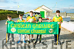 l-r  Johnny Finn, CJ Daniels, Jimmy Mansell, Dean Goodwin and Greg Fitzgerald enjoying the Castlegregory  annual Summer parade on Sunday