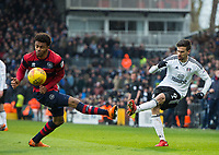 Fulham's Rui Fonte during the Sky Bet Championship match between Fulham and Queens Park Rangers at Craven Cottage, London, England on 17 March 2018. Photo by Andrew Aleksiejczuk / PRiME Media Images.