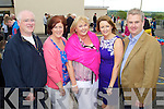 Padraig Fuller, Anne Loftus, Joanne Regan, Maria O'Connell and Mike Parker pictured at the Centenary of Kilflynn school on Sunday.