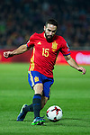 Spain's Dani Carvajal  during the match of European qualifying round between Spain and Macedonia at Nuevo Los Carmenes Stadium in Granada, Spain. November 12, 2016. (ALTERPHOTOS/Rodrigo Jimenez)