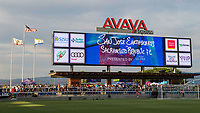 San Jose, CA - Tuesday June 11, 2019: A US Open Cup match between the San Jose Earthquakes and Sacramento Republic FC at Avaya Stadium.