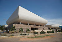"""""""The National Theatre of Ghana is jointly built by the Government of the People's Republic of China and the Government of the Republic of Ghana"""""""