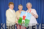 PAINTING: Probus Ladies Una Walsh, Noreen Quirke and Celine Slattery (Tralee) who showed off one of the many painting which were on exhibidtion in the Kerry County Library,Tralee in conjuction with Bealtaine, on Saturday.................................................................... ........