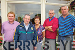 Some of the X-Factor hopefuls who will be taking part in the Talent Contest at The Ring of Kerry Hotel Cahersiveen on Friday night in aid of Ballinskelligs In-shore Rescue, pictured here l-r; Paddy Casey, Joe McCrohan, Janette Murphy, John Sugrue & John Quirke.