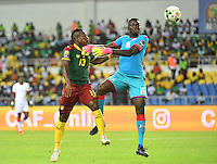 Christian Bassogog (Caemroun) vs Herve Coffi (Burkina) <br /> Libreville ( Gabon ) 14-01-2017 Coppa Africa 2017 <br /> Camerun -  Burkina Faso <br /> Foto Panoramic / Insidefoto